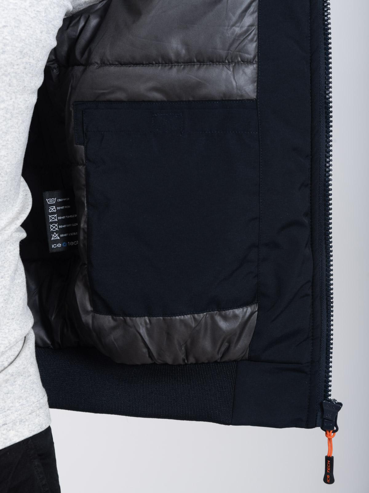 ICE TECH G821 BLUE - BLACK - ΑΝΡΙΚΟ ΤΖΑΚΕΤ ΜΑΥΡΟ ΜΠΛΕ