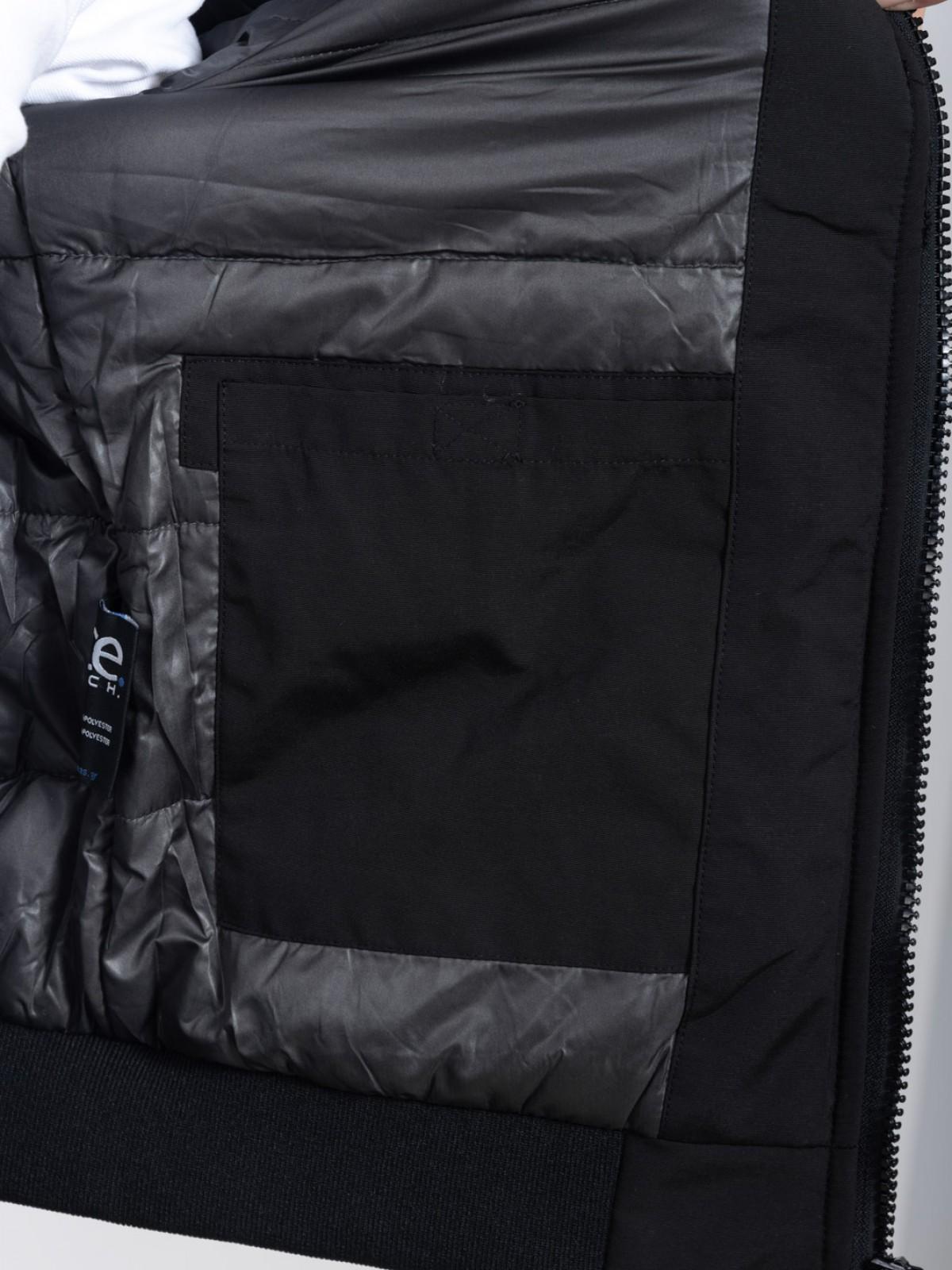 ICE TECH G821 OLIVE-BLACK - ΑΝΡΙΚΟ ΤΖΑΚΕΤ ΛΑΔΙ ΜΑΥΡΟ