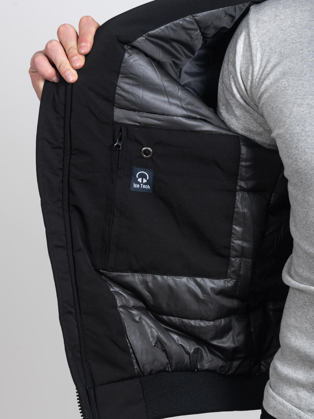 ICE TECH G821 BLACK - ΑΝΡΙΚΟ ΤΖΑΚΕΤ ΜΑΥΡΟ