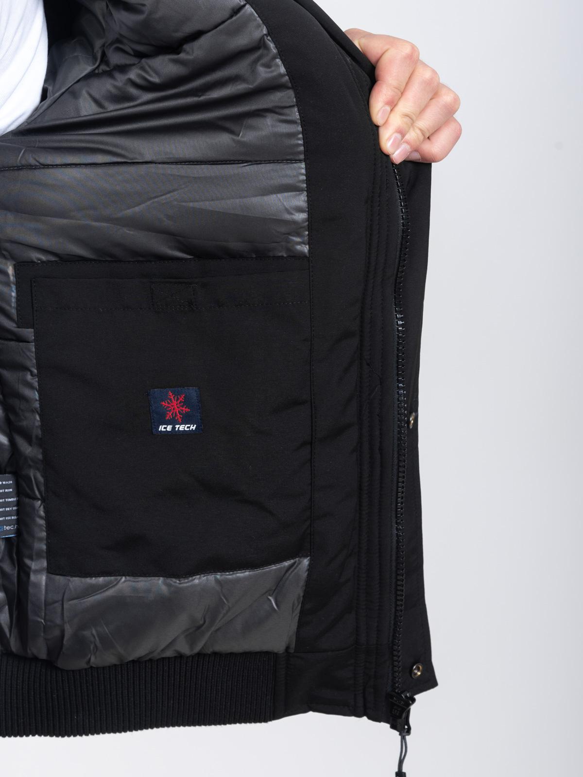 ICE TECH G826 BLACK - ΑΝΡΙΚΟ ΤΖΑΚΕΤ ΜΑΥΡΟ