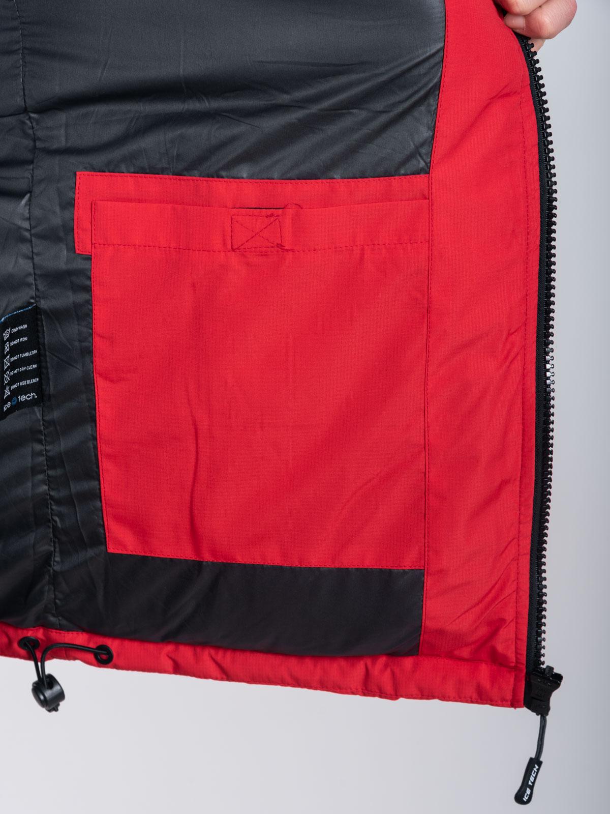 ICETECH G828 RED - ΑΝΡΙΚΟ ΤΖΑΚΕΤ ΚΟΚΚΙΝΟ